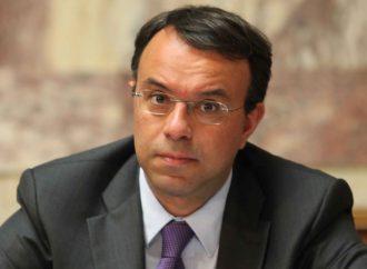 """Χ. Σταϊκούρας: """"Επέκταση"""" έκτακτης ενίσχυσης 800 ευρώ σε 1,7 εκατ. εργαζόμενους"""