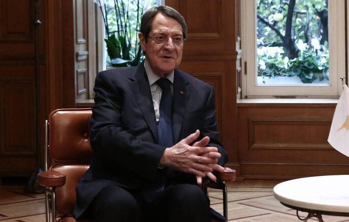 "N.Αναστασιάδης: Θέτει ζήτημα ""Γιαβούζ"" στη Σύνοδο Κορυφής της ΕΕ"