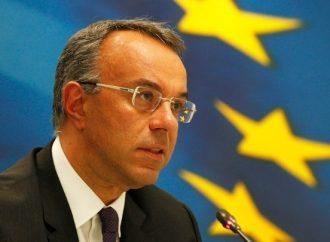 Χρ.Σταϊκούρας: Ύφεση 5%-10% λόγω των μεγάλων πιέσεων στον τουρισμό
