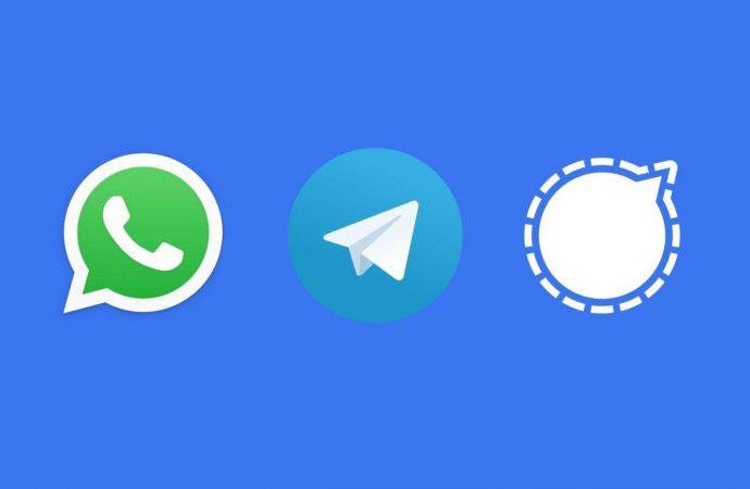 Χάρη στα λάθη του WhatsApp, τα Telegram και Signal είδαν τρελή εισροή νέων χρηστών